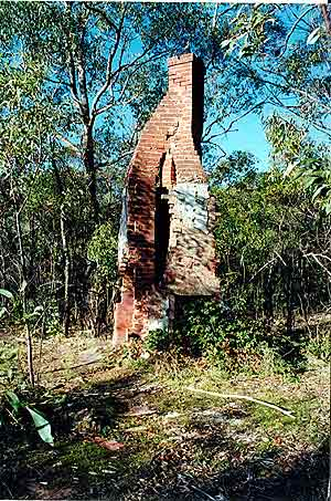 A ruin, or the twisted chimney